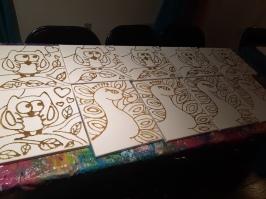 Toile pour Kit d'Art-ivité