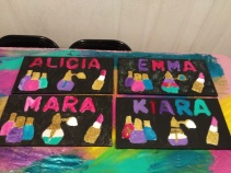 Glam Name Canvas