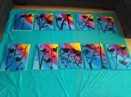 Sunset Bird Canvas