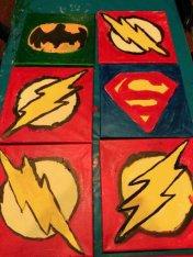 Toile Superhèro